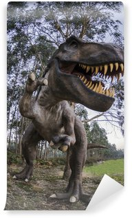 Vinylová Fototapeta Tyrannosaurus rex completo