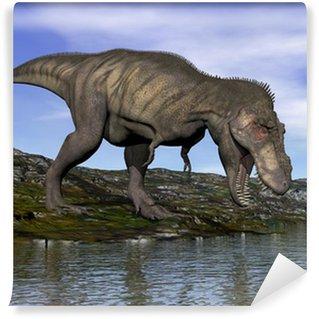Fototapeta Winylowa Tyrannosaurus Rex dinozaura - 3d render