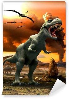 Vinylová Fototapeta Tyrannosaurus