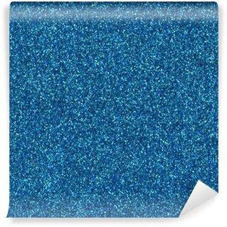 Vinylová Fototapeta Tyrkysová modrá barva třpytky textury pozadí.