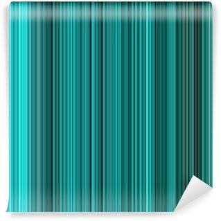 Vinylová Fototapeta Tyrkysové barvy abstraktní svislé čáry pozadí.