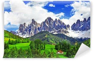 Vinylová Fototapeta Úchvatné přírody Dolomit. Italské Alpy