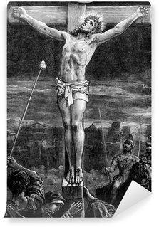 Vinylová Fototapeta Ukřižování Ježíše Krista