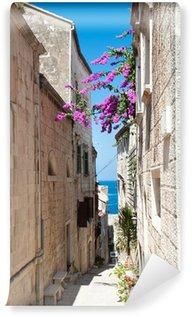 Vinylová Fototapeta Ulice ve městě Korčula, Chorvatsko