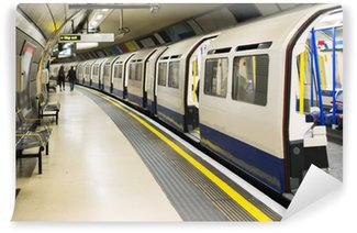 Vinylová Fototapeta Underground v Londýně