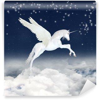 Vinylová Fototapeta Unicorn na obloze