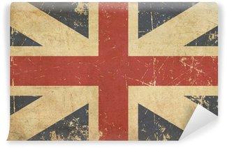 Vinylová Fototapeta Union Jack 1606-1801 (Králův barvy) Flat věku