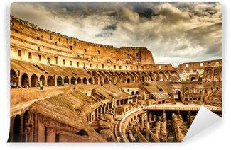 Vinylová Fototapeta Uvnitř Colosseum v Římě, Itálie
