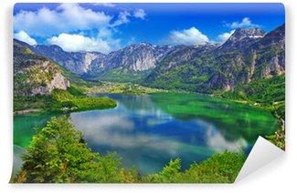 Vinylová Fototapeta Úžasný Alpine jezera, Hallstatt, Rakousko