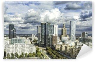 Vinylová Fototapeta V centru města Varšava