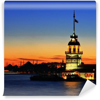 Vinylová Fototapeta V Maiden Tower v Istanbulu