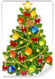 Vinylová Fototapeta Vánoční stromeček