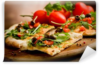 Vinylová Fototapeta Vegetariánská Pizza