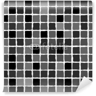 Vinylová Fototapeta Vektorové Black Mozaiky