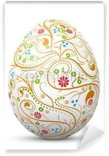 Vinylová Fototapeta Velikonoce velikonoční vajíčko, symbol, vzor, vír, abstraktní, 3D malované,