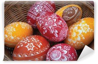 Vinylová Fototapeta Velikonoční vajíčka o Velikonocích