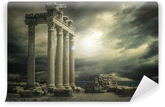 Vinylová Fototapeta Velká Apollon chrám @ Antalya