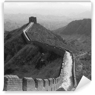 Vinylová Fototapeta Velká čínská zeď z porcelánu