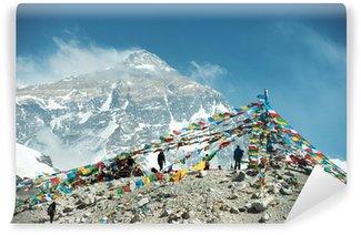 Vinylová Fototapeta Velkolepé horské scenérie na Camp Mount Everest Základní