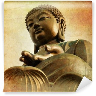 Vinylová Fototapeta Velký Buddha Po Lin Monastery - Hong Kong