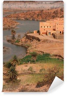 Vinylová Fototapeta Vesnici v pohoří Atlas, Maroko