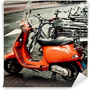 Vinylová Fototapeta Vespa Motocykl