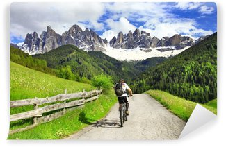 Vinylová Fototapeta VHT - Dolomity, sever Itálie