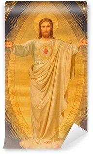 Vinylová Fototapeta Vídeň - Srdce Ježíšovo malovat na oltáři kostela Sacre Coeur