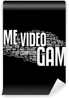 Vinylová Fototapeta Video hry