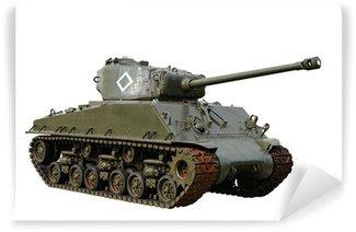 Vinylová Fototapeta Vintage American Tank