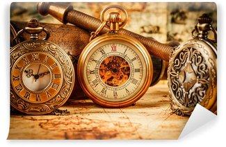 Vinylová Fototapeta Vintage kapesní hodinky
