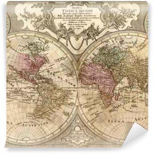 Fototapeta Winylowa Vintage world map