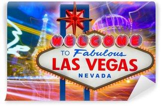 Vinylová Fototapeta Vítejte na Fabulous Las Vegas znamení slunce s Gazy