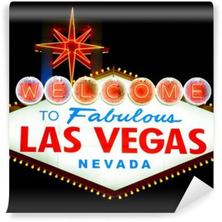 Vinylová Fototapeta Vítejte v Las Vegas podepsat izolovaných