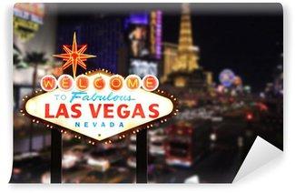 Vinylová Fototapeta Vítejte v Las Vegas v Nevadě