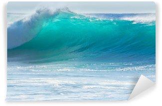 Vinylová Fototapeta Vlny tříštící se o pobřeží Madeiry