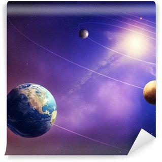 Vinylová Fototapeta Vnitřní sluneční soustava planet