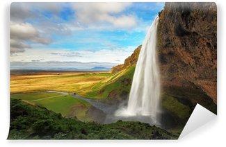 Vinylová Fototapeta Vodopád na Islandu - Seljalandsfoss