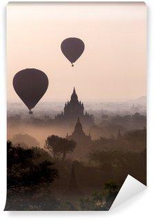 Vinylová Fototapeta Východ slunce nad chrámu pláně Bagan - Myanmar