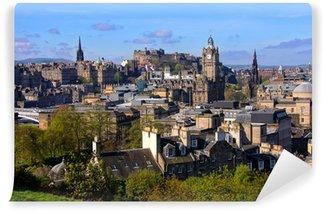 Vinylová Fototapeta Výhled na historické centrum Edinburghu Skotsko