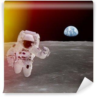 Vinylová Fototapeta Vysoce kvalitní, samostatný kompozitní astronaut ve vesmíru; prvky