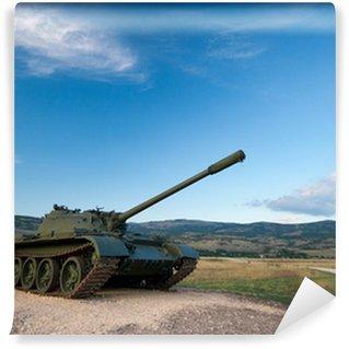 Vinylová Fototapeta Vystavil tanku T-55