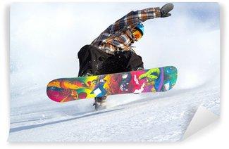 Vinylová Fototapeta Vývoj snowboard