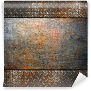 Vinylová Fototapeta Vzor kovů pozadí
