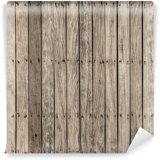 Vinylová Fototapeta Vzor staré dřevěné mostovky