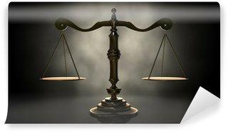 Fototapeta Winylowa Wagi sprawiedliwości
