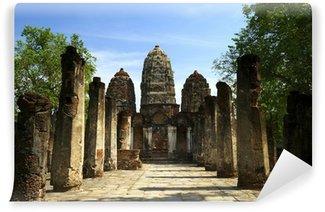 Fototapeta Winylowa Wat Si Sawai, Sukhothai Historical Park, Tajlandia