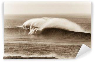 Vinylová Fototapeta Wave Sepia Kontrasty burácení vody