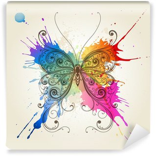 Fototapeta Vinylowa Wektor dekoracyjne motyl