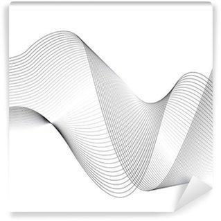 Vinylová Fototapeta Wellen und Linien